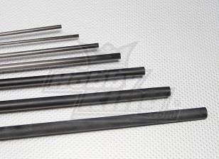 Tubo de fibra de carbono (hueco) 10x750mm