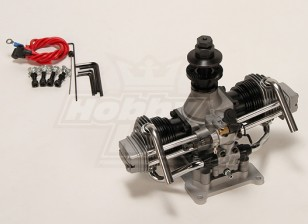 Motor ASP FT160AR Dos cilindros Glow