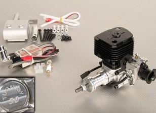 Turnigy El motor de gasolina de 30 cc w / encendido electrónico CDI y genuino Walbro carburador