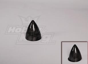 La fibra de carbono Spinner 102 mm / 4 pulgadas de diámetro