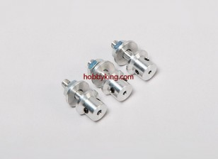 Prop adaptador w / Acero Tuerca 3 / 16x32-2.3mm eje (Grub tipo tornillo)