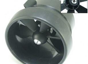EDF Unidad de ventilador de flujo guiado 6 Hoja 2.56inch / 66mm