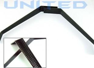 La fibra de carbono tren de aterrizaje de 100 mm