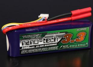 Turnigy nano-tech 3300mAh 4S 25 ~ 50C Lipo Pack de