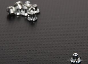 tamaño de la tuerca ciega M2 (10 piezas)