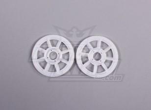 Tarot 450 PRO principal Gear Set (2pcs) - Blanco (TL1219-01)