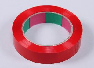 Cinta ala 45mic x 24 mm x 100 m (Estrecho - rojo)