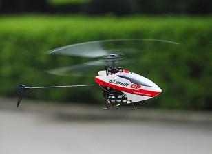 Helicóptero Walkera de Super Micro CP Flybarless 3D w / Devo 7E - Modo 2 (RTF)