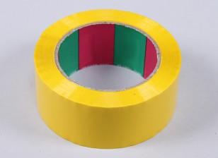 Ala cinta 45mic x 45 mm x 100 m (ancho - amarillo)