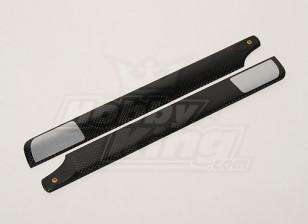 288mm TIG fibra de carbono principal Cuchillas