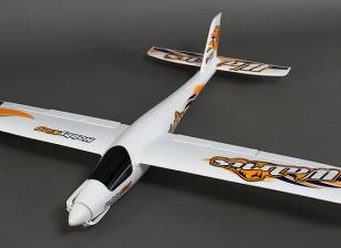 HobbyKing® ™ morsa Planeador w / Flaps EPO 1400mm (PNF)