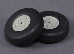 55mm Rueda Escala de peso ligero (2 piezas)