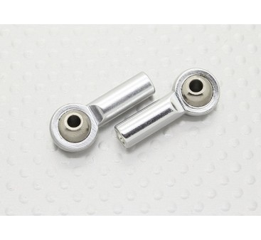 Juntas esféricas de metal (rosca a la izquierda) M3 x 3 mm 26mmx - 2pcs
