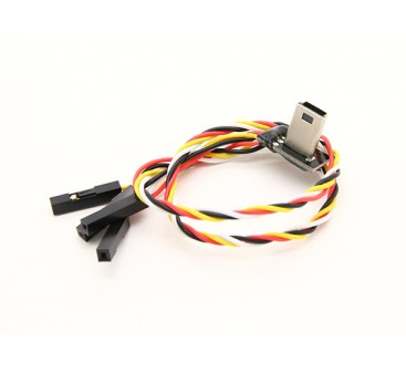 Mobius USB a la salida AV cable de carga con FPV