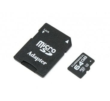 Tarjeta de Turnigy 64 GB de memoria SD Micro U3 (1 unidad)