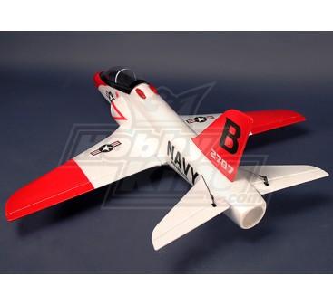 BAE Hawk - Red Arrow 70mm 990mm EDF kit Jet - blanco (EPO)