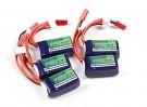 Turnigy nano-tech 180mAh 3S 25~40C Lipo Pack (5pcs)