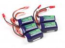 Turnigy nano-tech 260mah 2S 35~70C Lipo Pack (5pcs)