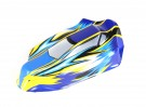 Cuerpo transparente (PVC) w / Cinta adhesiva - BSR Racing BZ-444 1/10 RTR 4WD Buggy Racing