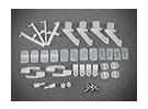Las piezas de plástico COMBO-01 (Chuck / horquilla / Rocker / Presser)