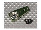 CNC de aluminio ajustable brazo de Servo 31x14.15x6mm (2-M3)