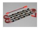 Sistema de neón flexible del LED inferior de la carrocería (azul)