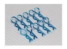 Heavy Duty 45 clips Deg cuerpo (azul) (10 piezas)