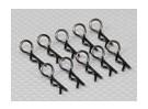 Heavy Duty 45 clips Deg cuerpo (negro) (10 piezas)