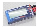 HobbyKing® compacto 30A Medidor de vatios de potencia y analizador