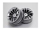 Escala 1:10 alta calidad Touring / deriva de las ruedas del coche RC de 12 mm Hex (2 piezas) CR-DBSS