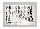 Las cartas / Símbolos Negro-Plata Estilo Luftwaffe (Med) Estilo 2