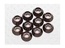 Sockethead arandelas de aluminio anodizado M3 (gris titanio) (10 piezas)