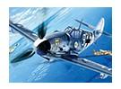 Kit de Italeri Escala 1/72 Messerschmitt BF-109 G-6 Modelo de plástico