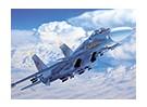 Kit de Italeri 1/72 Escala de Sukhoi Su-27 Flanker Modelo Plástico
