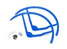 8 pulgadas de plástico multi-rotor hélice Guard para DJI Phantom 1 - Azul (2set)