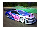 Ride Subaru Legacy B4 GT300 1/10 Touring Car Body Shell - Peso ligero - Claro