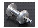 Los cuernos de aluminio Tornillo M4x24mm (5pcs / set)