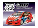 BLITZ Mini Jazz 1/10 Shell EP Cuerpo (225 mm) (0,8 mm)