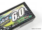 Paneles decorativos TrackStar cubierta de batería para el patrón estándar de Hardcase 2S Transparencia de carbono (1 unidad)