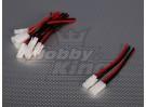 Tamiya conector de tipo macho / hembra de 10 cm (5pairs / bolsa)