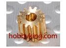 Engranaje de piñón de 2,3 mm / 0,4 M 14T (1 unidad)