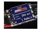 Controlador de velocidad sin escobillas HobbyKing 20A BlueSeries