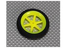 Super Multi luz rayo rueda D50x13mm (5pcs / bolsa)