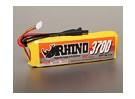 Rhino 3700mAh 3S 11.1v Lipo 25C Paquete