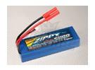 ZIPPY 5000mAh 2S1P Estuche duro paquete de 20C