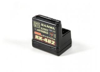 Sanwa MT-44 4Ch. 2.4GHz Radio System With RX-482 Receiver- Receiver