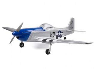 H-King Mustang P-51D angle profile