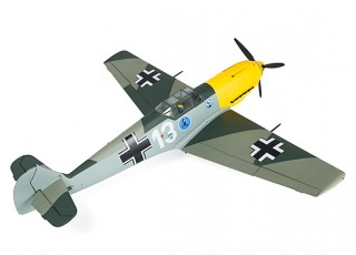 "Durafly™ Messerschmitt Bf.109E-4 Battle of Britain Scheme 1100mm (43.3"") (PnF) - rear"
