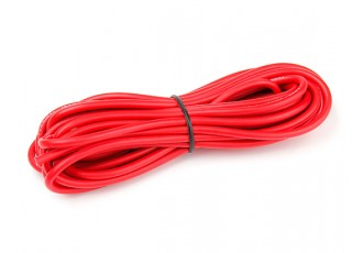 Turnigy High Quality 12AWG Silicone Wire 5m (Red)