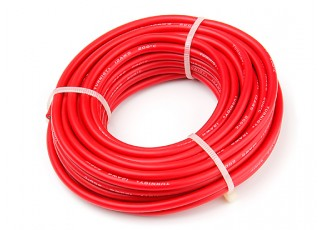 Turnigy High Quality 12AWG Silicone Wire 8m (Red)
